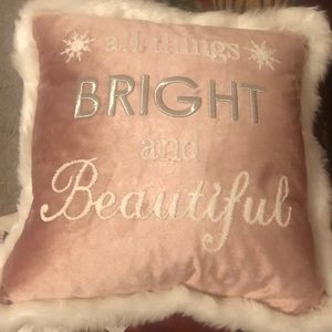 🆕 Holiday Accent Pillow